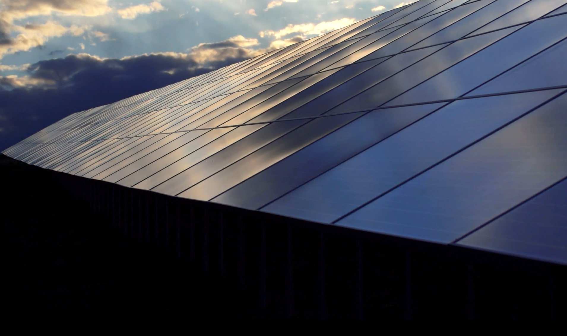 Statkraft solceller panel