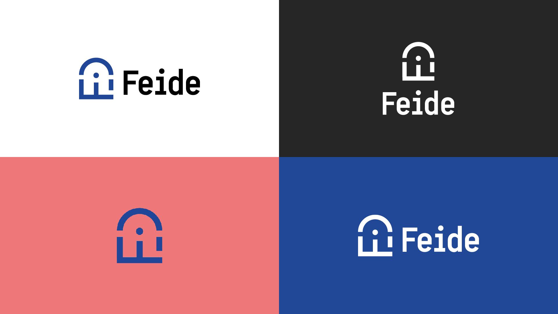 Graphics/branding for Feide – logo variants