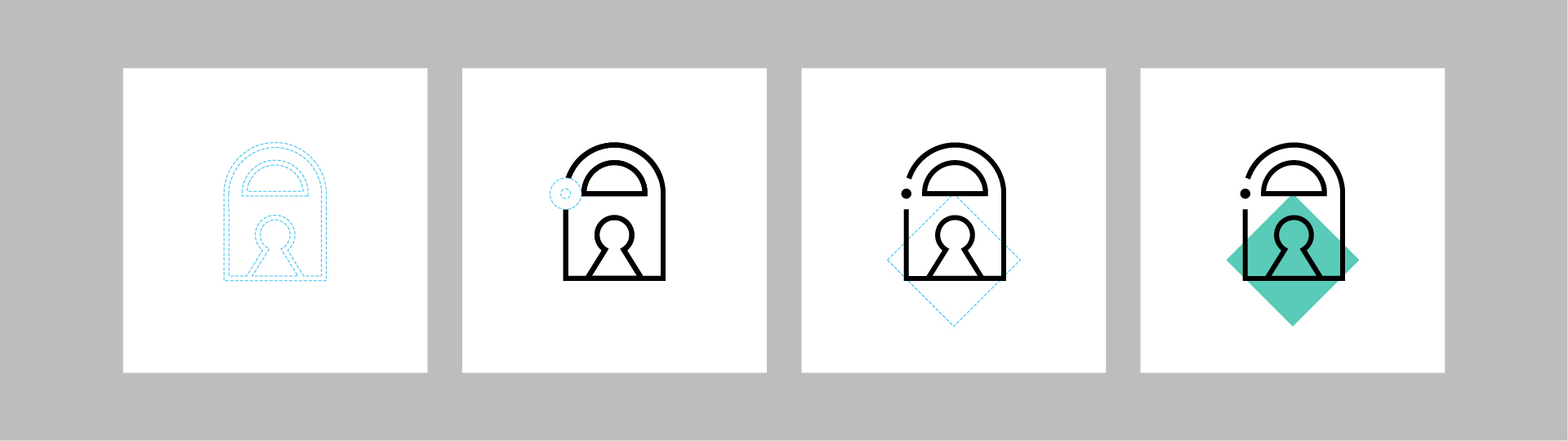 "Graphics/branding for Feide – icon ""anatomy"""